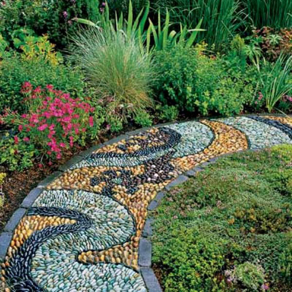 Beautiful garden walkway designs garden paths small for Garden path designs