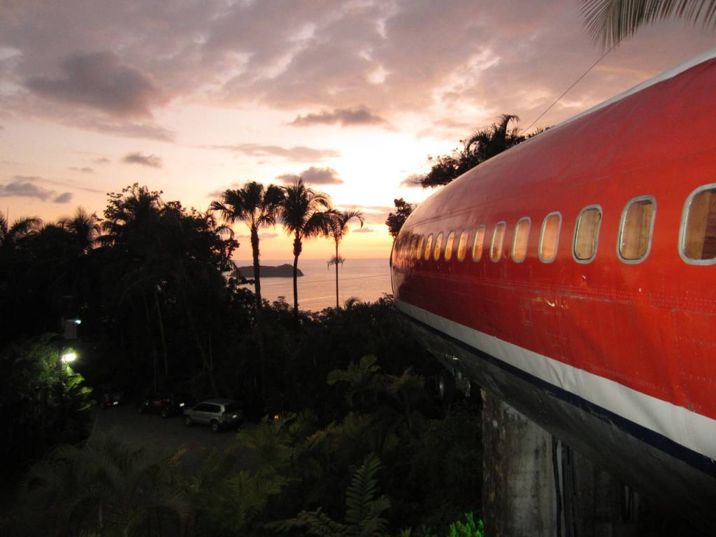 Recycled Boeing 727 Airplane Converted Into Gorgeous Hotel