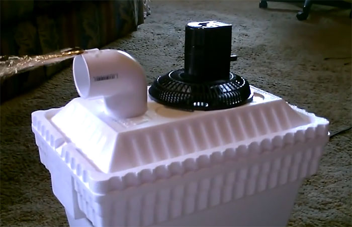 Diy Solar Powered Air Cooler For 15 Off Grid World