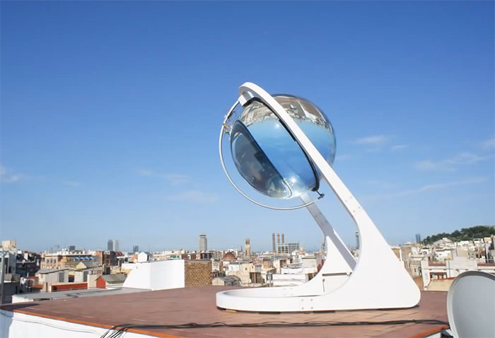 Solar Sphere Stargazer Table Light |Solar Sphere
