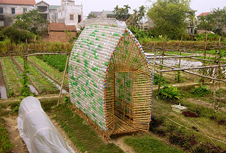beautifully ingenious greenhouse in vietnam is made from