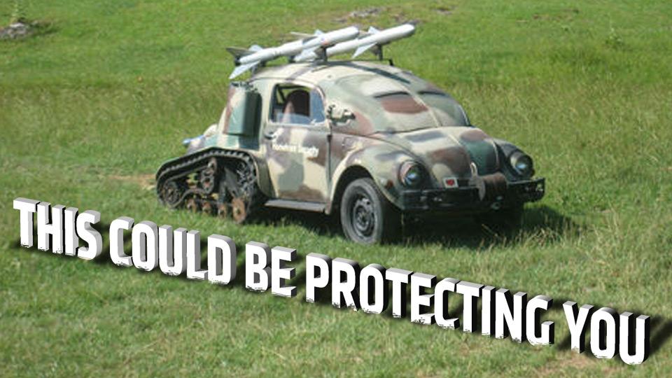 Volkswagon Bug Tank
