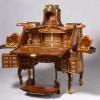 Stunningly Gorgeous Mechanical Desk Designed by Abraham and David Roentgen