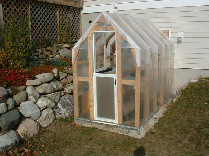 Cheap DIY greenhouse