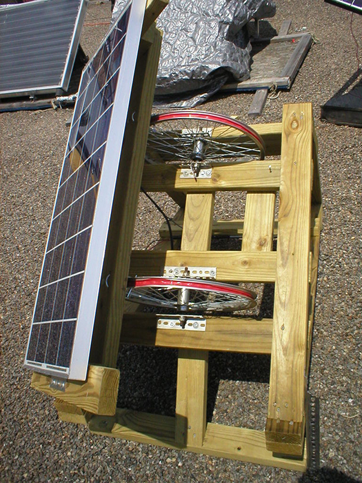 diy solar inexpensive homemade sun tracker maximizes. Black Bedroom Furniture Sets. Home Design Ideas