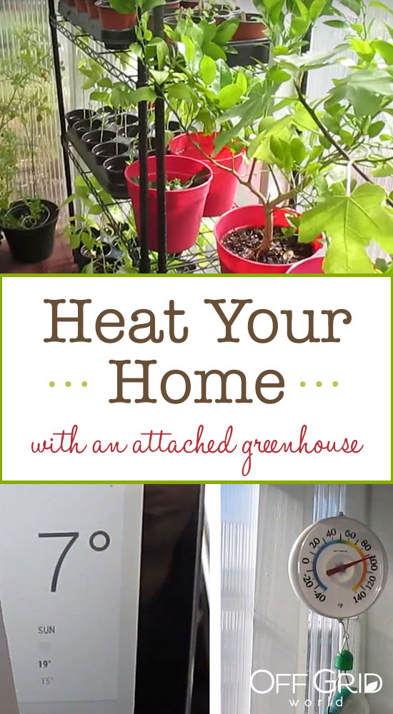 Heat your home with a greenhouse