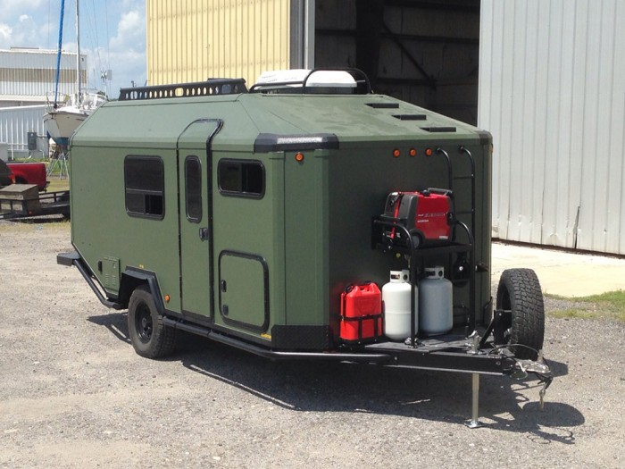 Best Bug Out Shelter : Off road trailer might be perfect mobile grid bug out