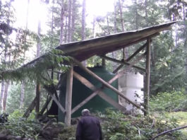 off grid water catchment