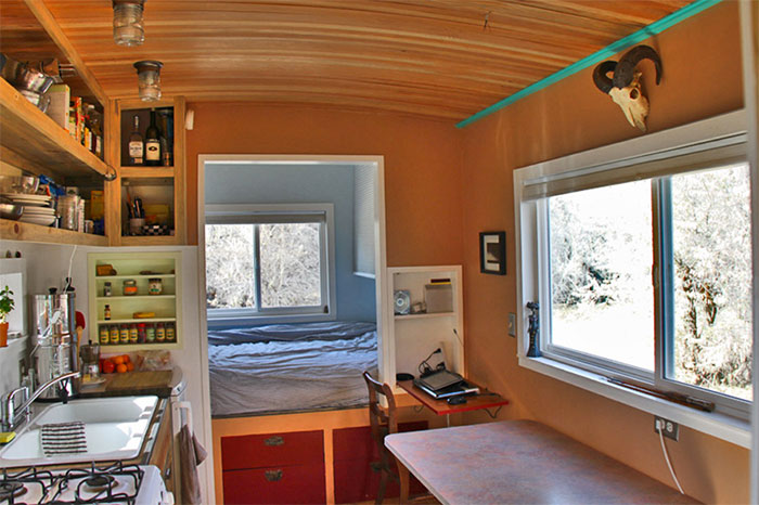 Tiny Home Designs: Amazing Off Grid Tiny House Has No Mortgage Or Utility