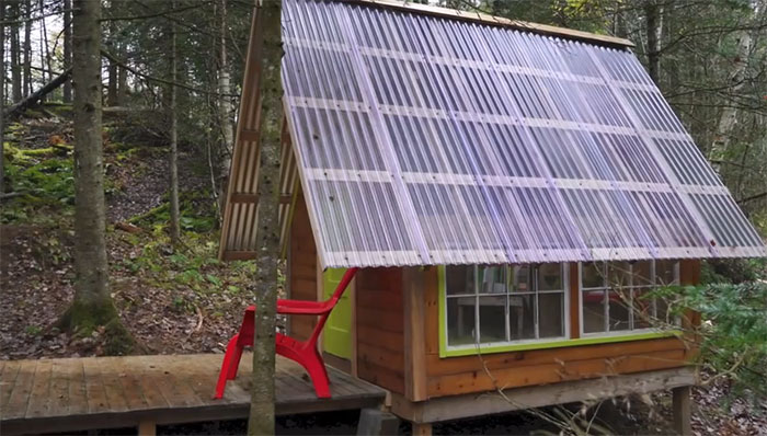 Adorable Tiny Cabin Built For 300 Off Grid World