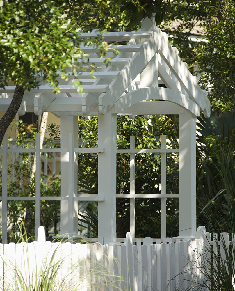 Arbor made with old doors