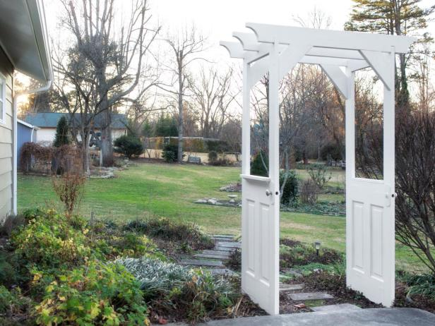 11 Gorgeous Garden Arbors Made From Old Doors Off Grid World