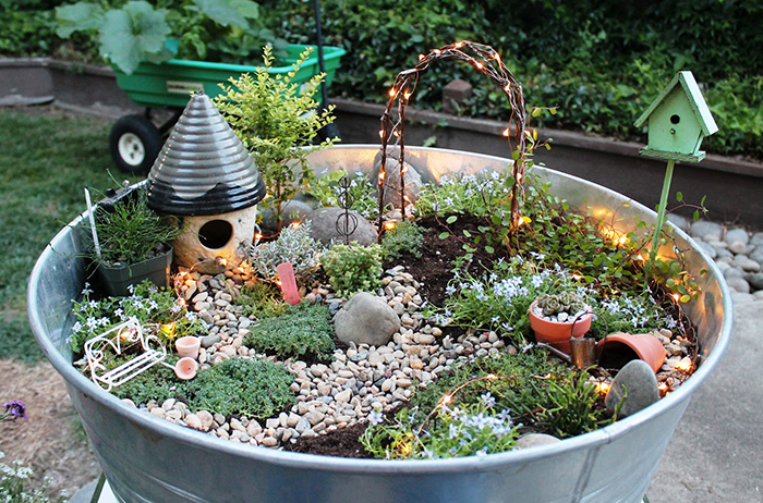 Ordinaire Fairy Gardening, Or Miniature Gardening, Is A Huge Trend Right Now In The  Gardening World, And For Good Reason! These Little Gardens Are Beautiful,  ...