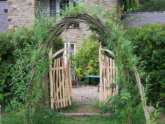 Willow archway