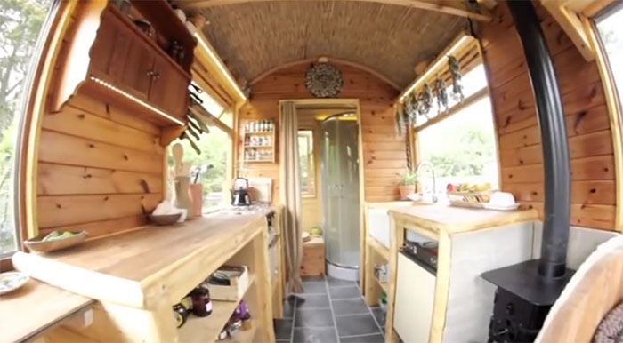 Spectacular Tiny Cabin is Off Grid Luxury on a Budget - Off