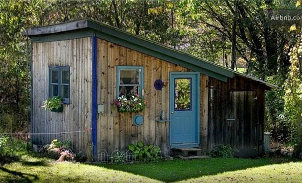 Tiny Vermont cabin