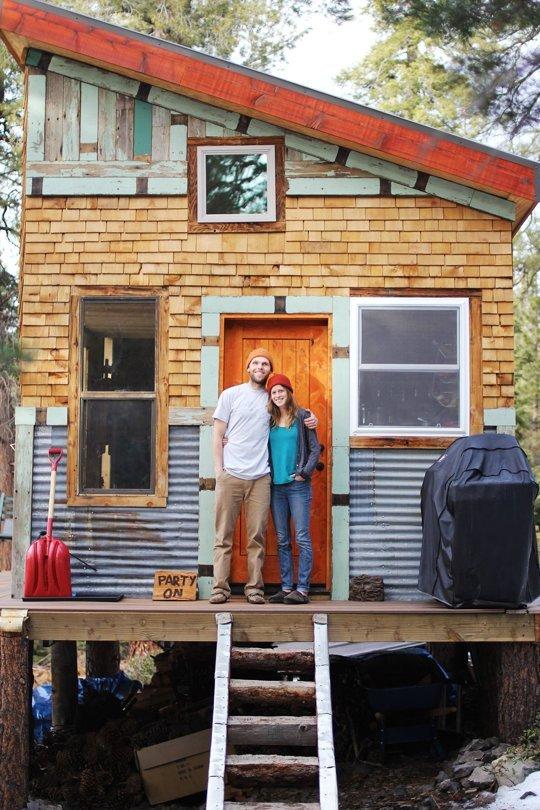 Off grid cabin in Tahoe