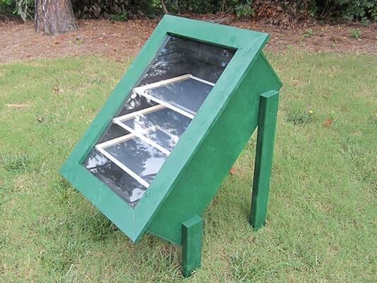 DIY solar food dryer
