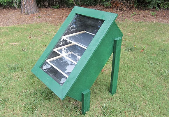 DIY solar food dryer
