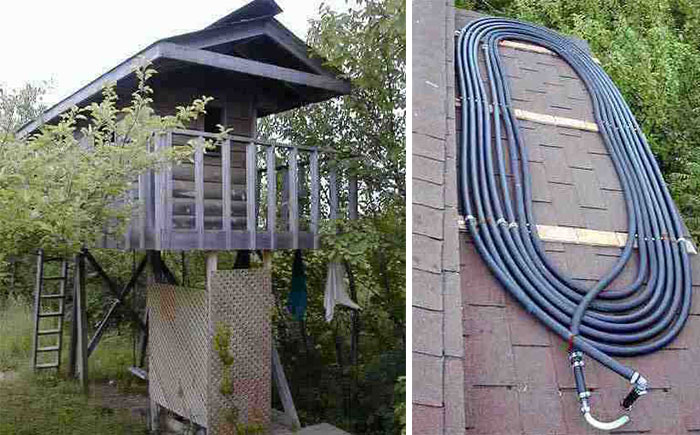 5 DIY Outdoor Solar Shower Ideas - Off Grid World