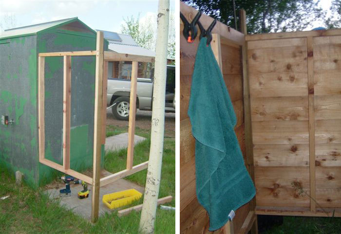 5 Diy Outdoor Solar Shower Ideas Off Grid World
