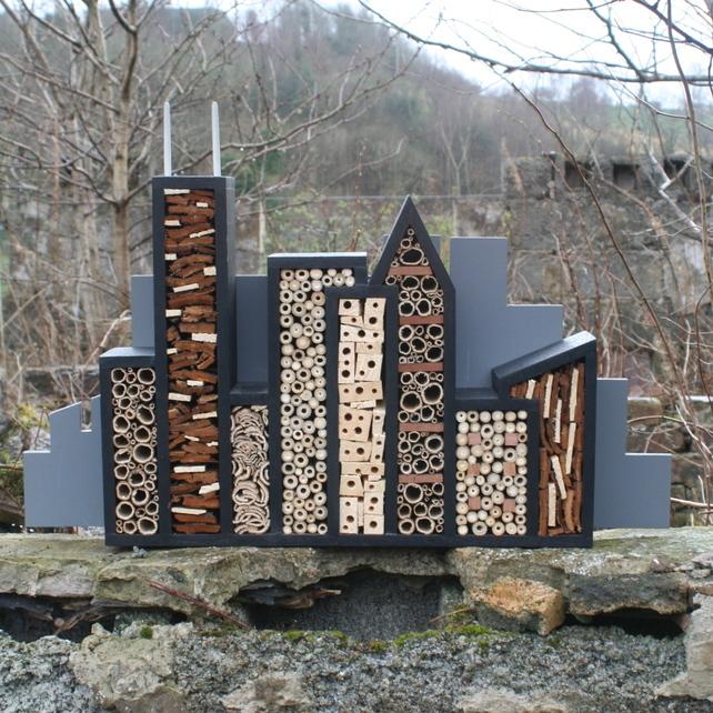 Urban bug hotel
