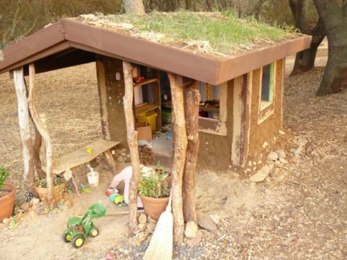 39 naturally cool 39 cob playhouse built for 30 off grid world
