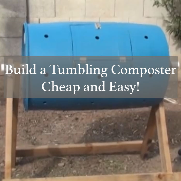 Build a Tumbling Composter – Cheap and Easy! | Off Grid World