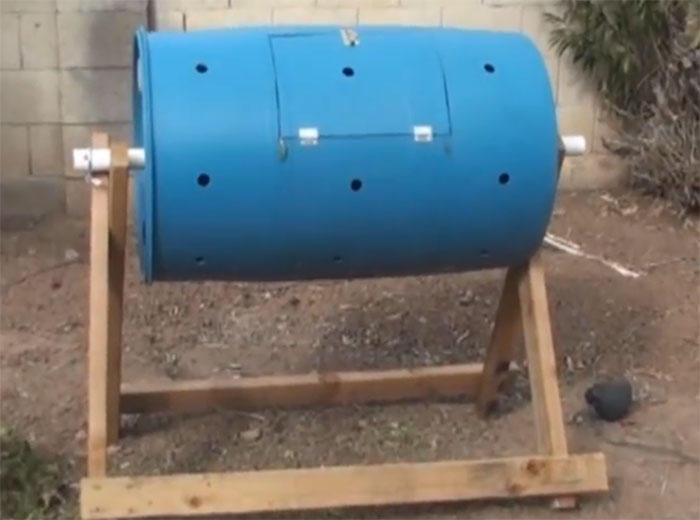 Build A Tumbling Composter Cheap And Easy Off Grid World