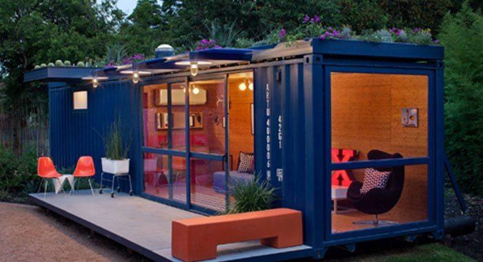 Beautiful Spacious Shipping ContainerHomew/Living Roof Garden