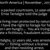 Mountain Man arrested for trying to feed himself, owns judge and walks out