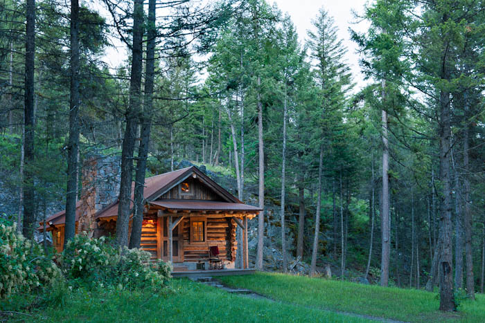 Authentic Log Cabin Exquisitely Restored To 1900 S Splendor
