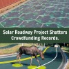 Solar Roadway Project Shatters Crowdfunding Records, But is it Viable?