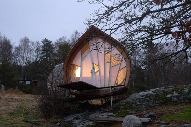 Swedish Miniature Home Is Fairytale Splendor Off Grid World