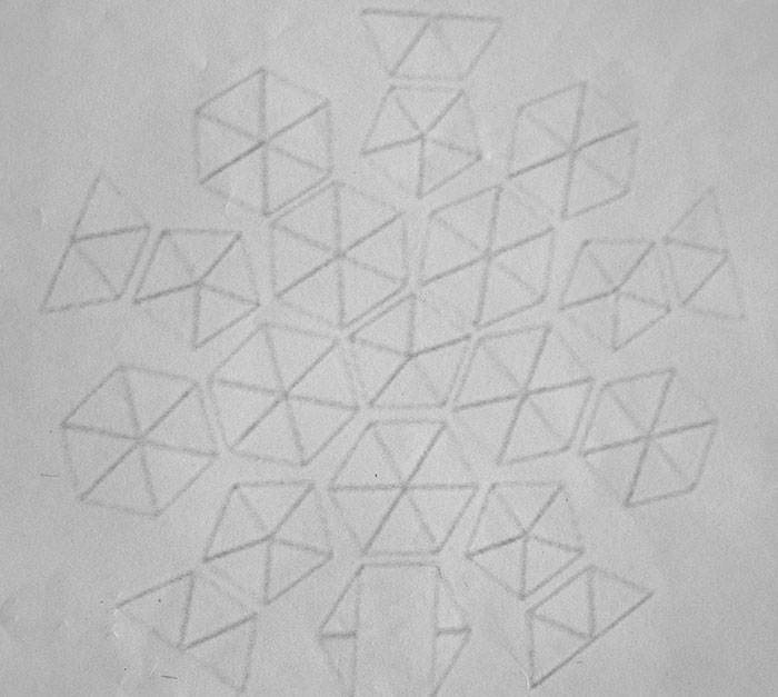 Geo dome greenhouse sketch