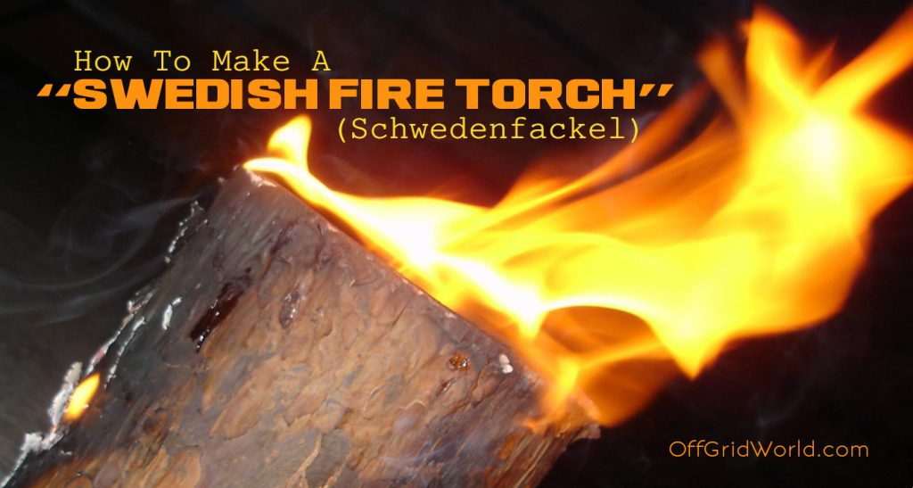 how to build a torch