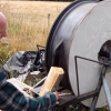 """Wheel of Death"" The World's Most Dangerous, Useless, & Epically Stupid Wood Splitter!"