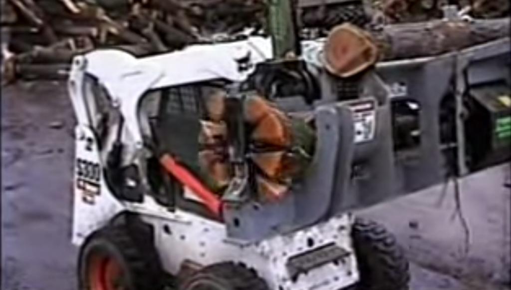 Bobcat Wood Splitter