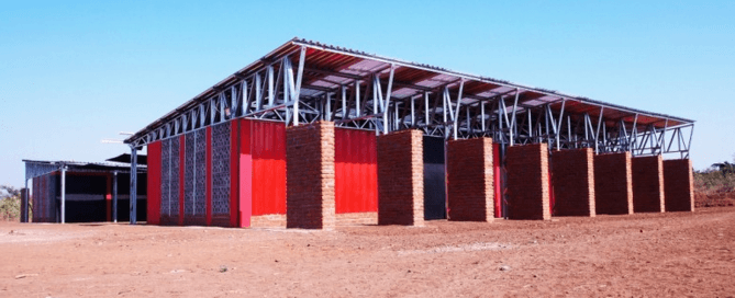 Off Grid Shipping Container School