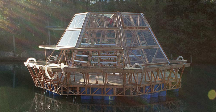 Jellyfish Barge Greenhouse