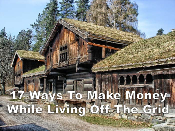17 Ways To Make Money While Living Off Grid - Off Grid World