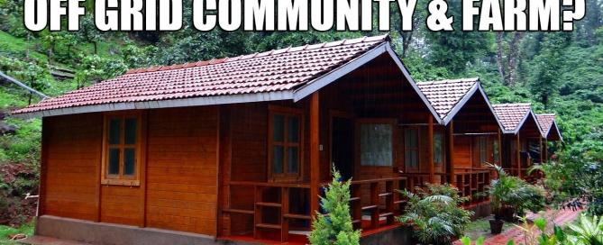 off grid community and farm