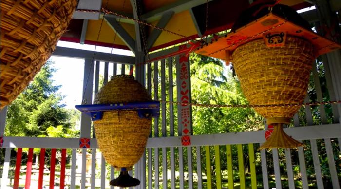 Sun Hive Bee Hive