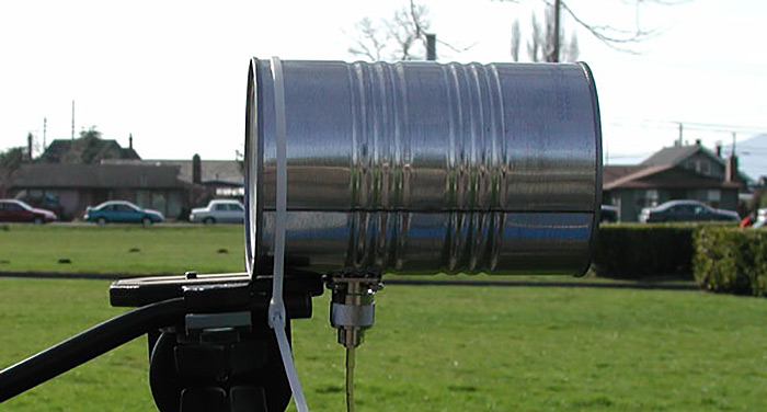 How To Build A Tin Can WiFi Antenna For $5