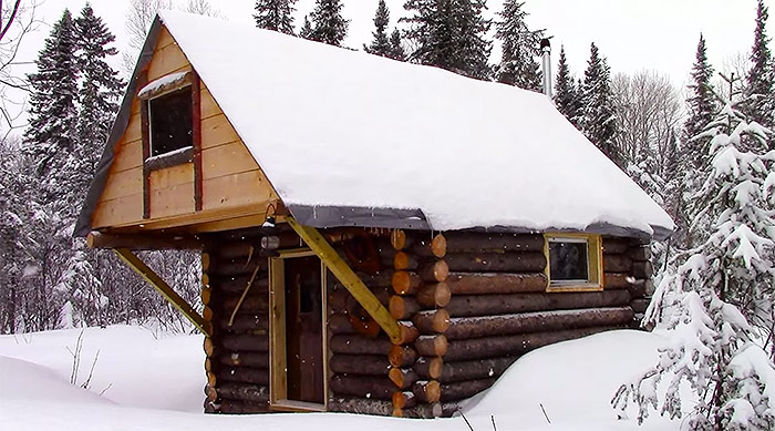 How To Build A Cabin Without A Permit