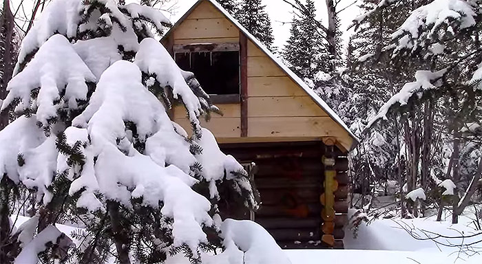 Off grid cabin without a permit