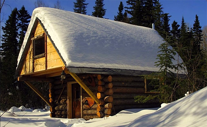 500 off grid cabin how to build a cabin without a permit for Building a mountain cabin