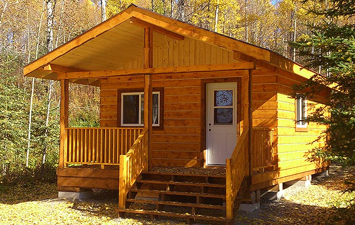 How to build an off grid cabin on a budget off grid world for Small easy to build cabin plans