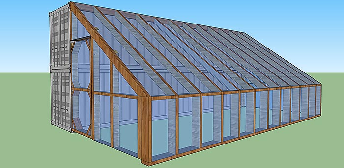 DIY Dog Kennel House Plans besides Greenhouse Lean To Shed Plans ...