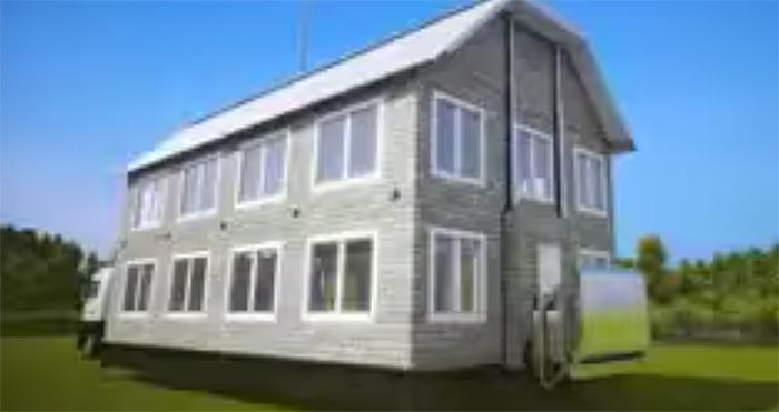 expandable shipping container home